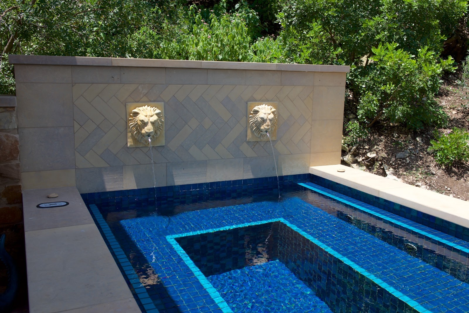 All Glass Tile Swimming Pools • Tri-County Pools