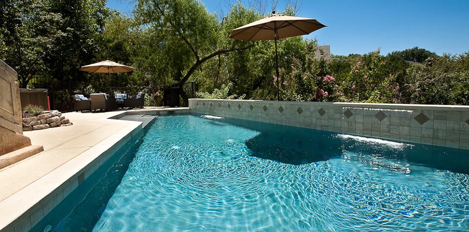 Austin pool builders austin swimming pools tri county pools for Pool design austin